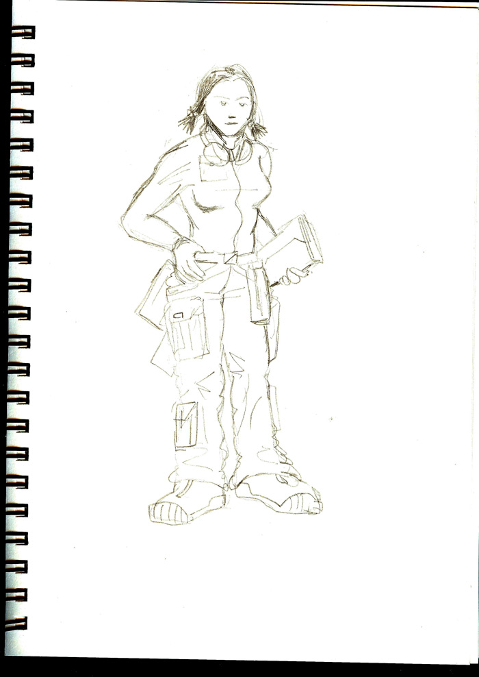 Sketchbook: Technical Support
