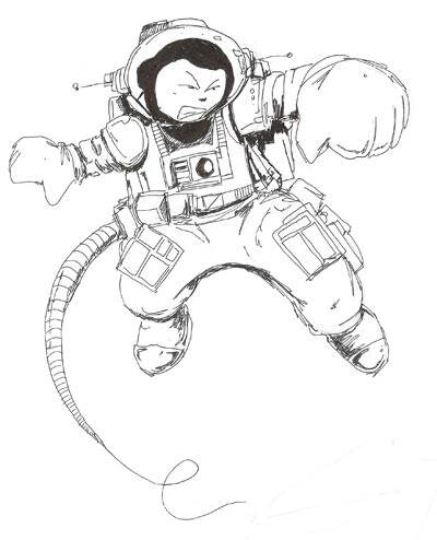 Photo: Space Walk