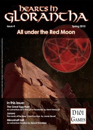 Cover: Hearts in Glorantha issue 4