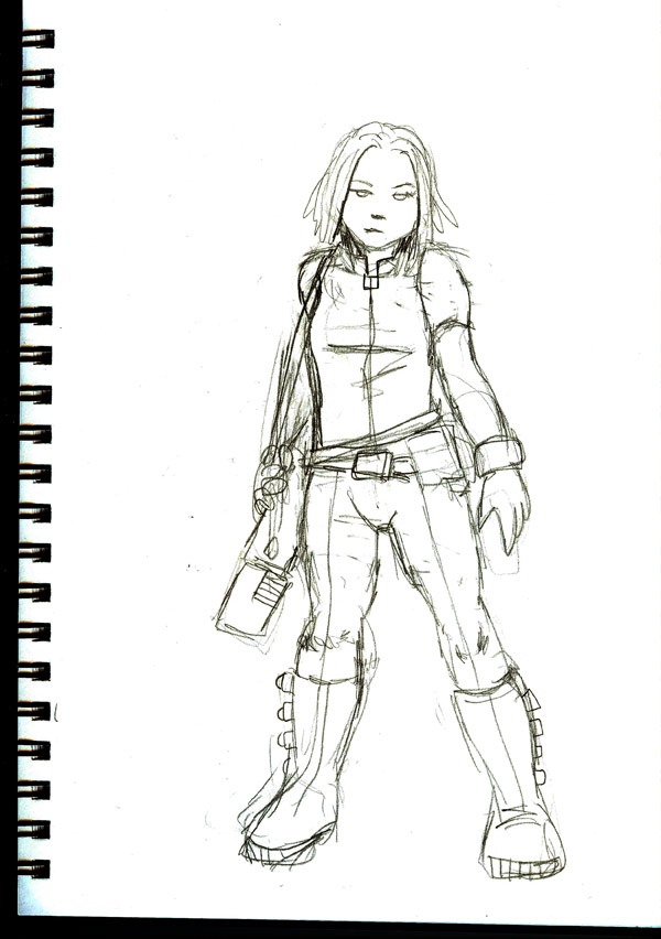 Sketchbook: Mercenary