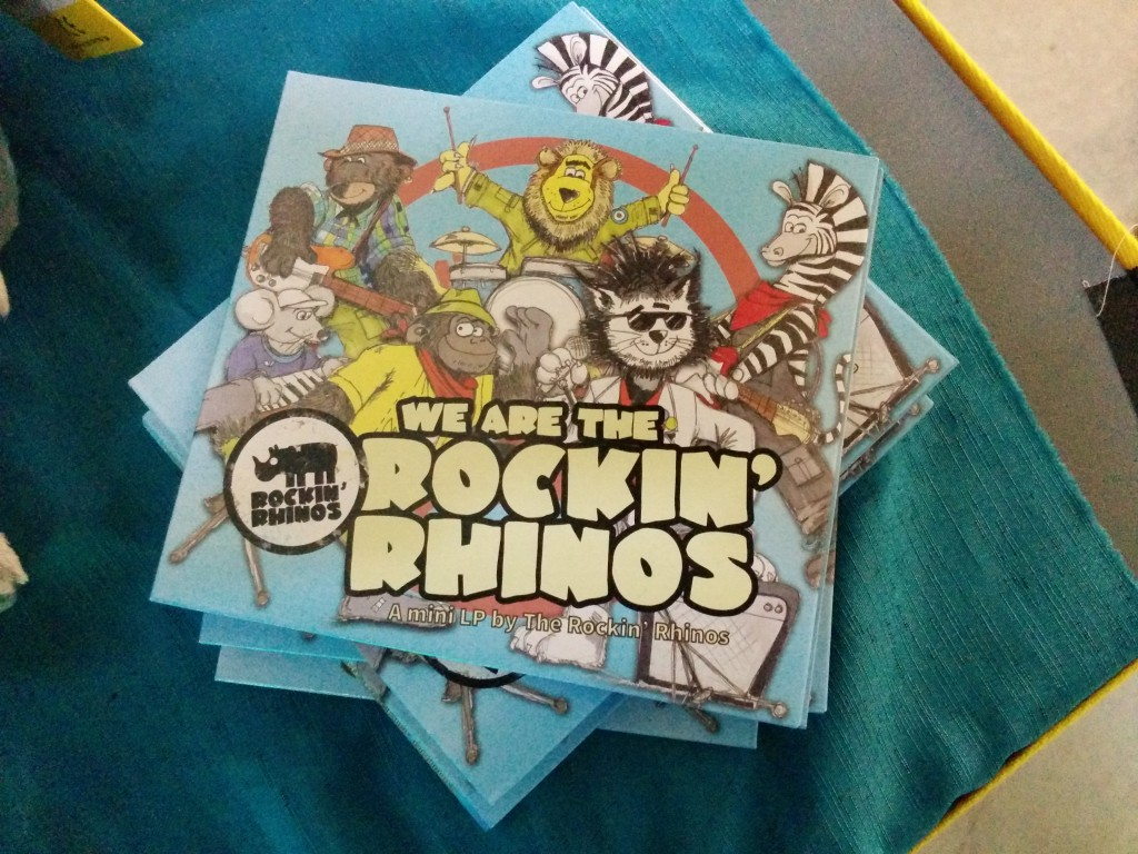 Photo: Rockin' Rhinos CD cover