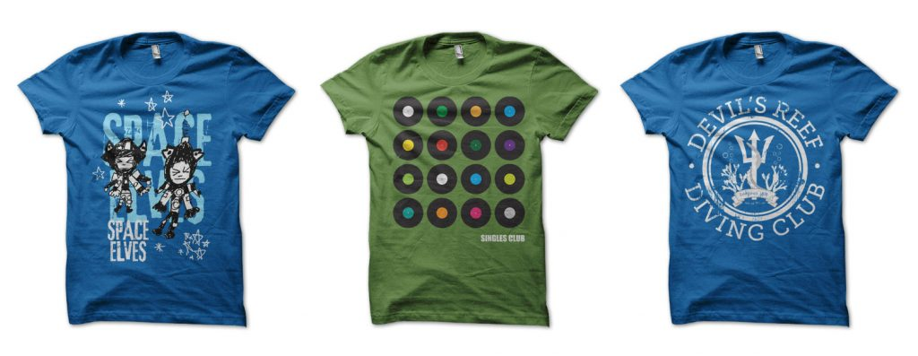 Photo: T-shirt designs
