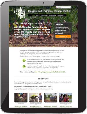 Screenshot: Lush Spring Prize